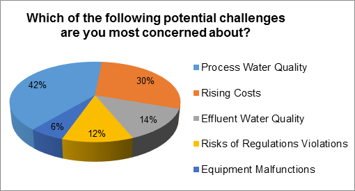 Process Water Challenges Chart