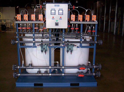 Skid Mounted Chlorination System