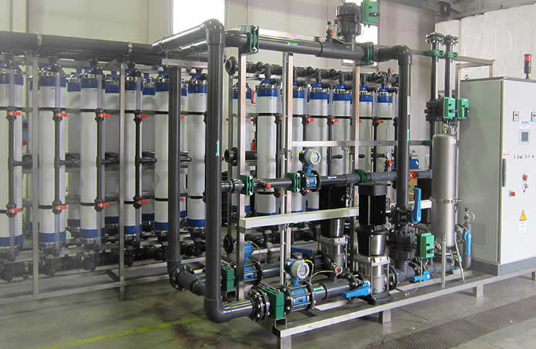 Industrial water treatment for US Army Base
