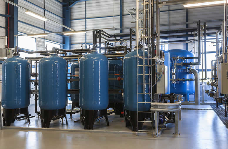 Industrial water treatment for University