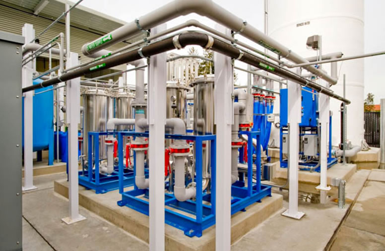 Industrial water treatment for aluminum company