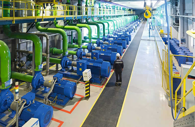 Industrial water treatment for textile company